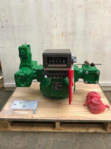 Sampi Flow Meter with Preset Counter & Preset Valve