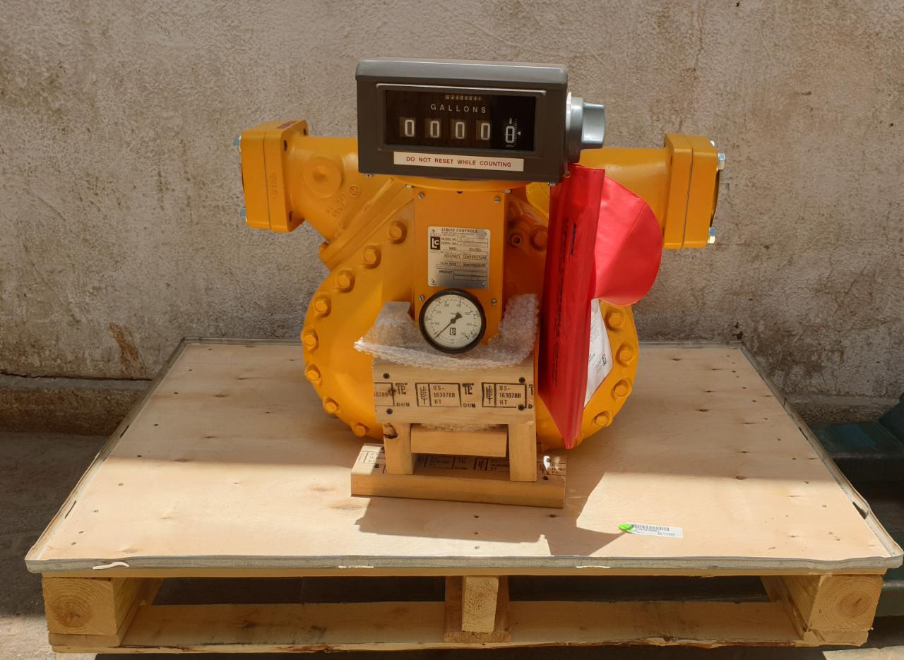 LC FLow Meter with Flow Indicator