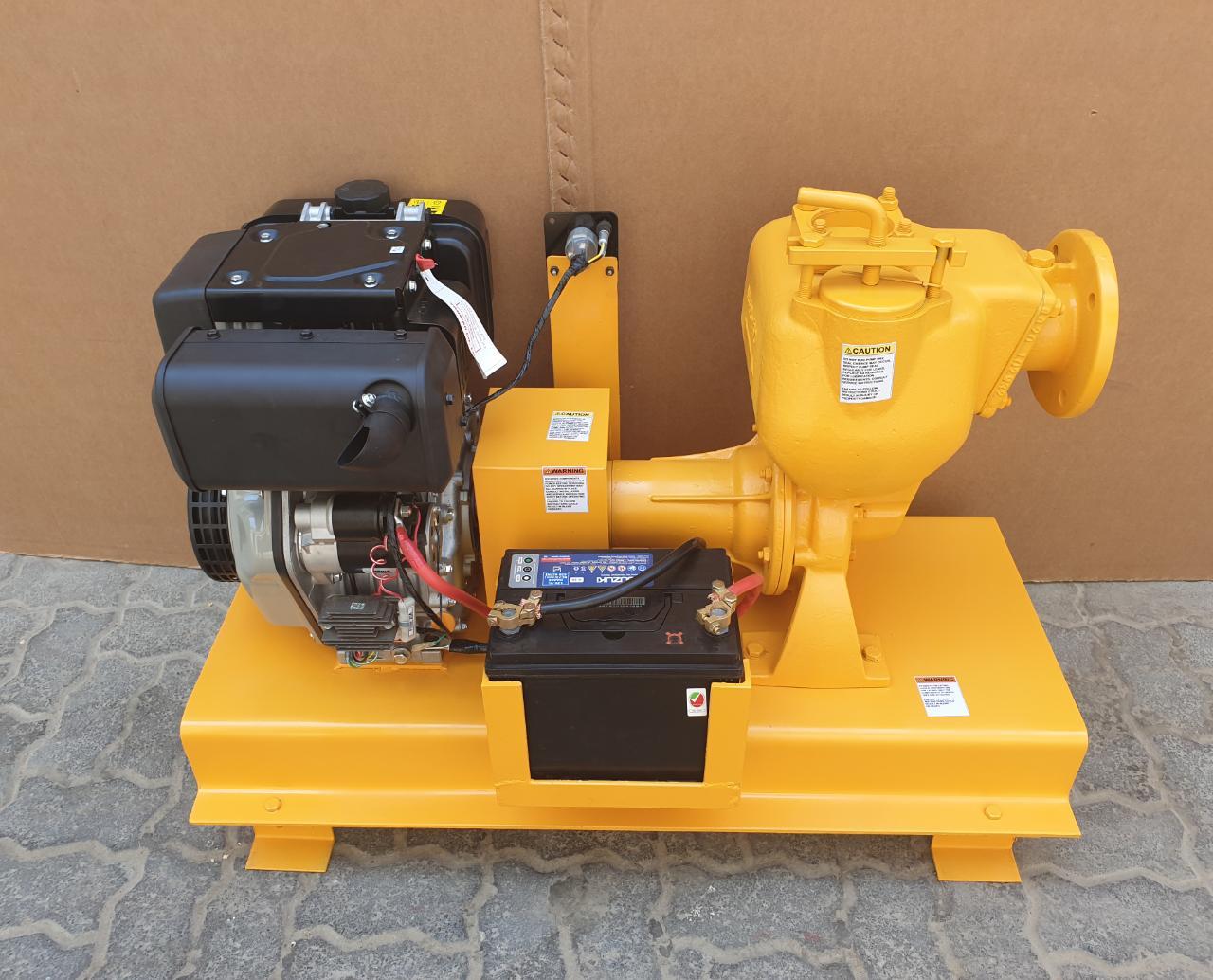 Engine Driven Desmi Pump Skid