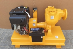 Engine Driven Desmi Pump Skid