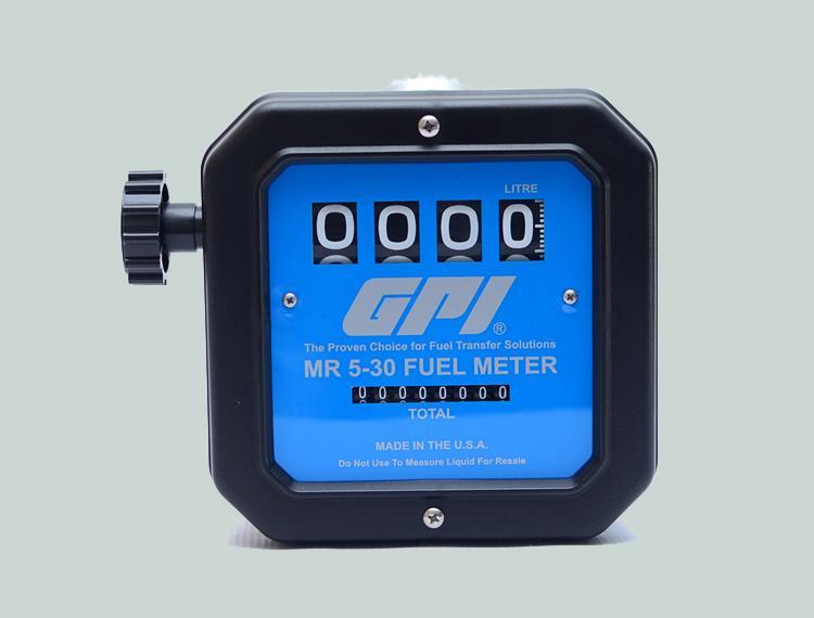 GPI 4 Digit Mech Flow Meter
