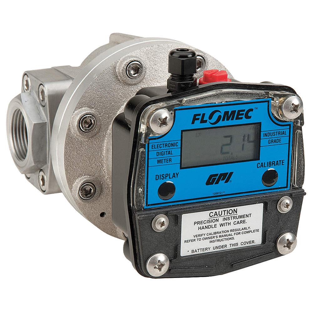 FLOMEC ELECTRONIC THREADED TYPE FLOE METER