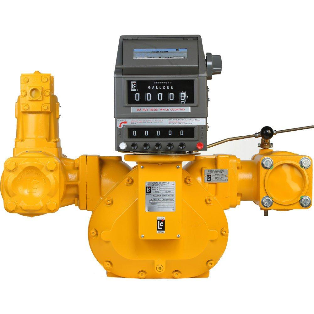 lc flow meter with preset counter & valve